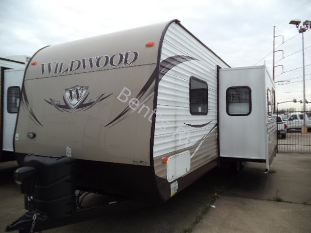 2013 FOREST RIVER WILDWOOD 29QBBS