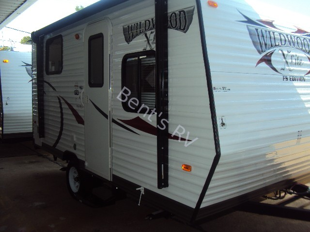 2014 FOREST RIVER WILDWOOD 154BH