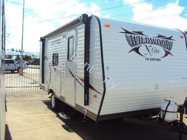 2014 FOREST RIVER WILDWOOD 195BH