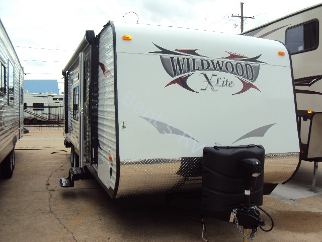 2014 FOREST RIVER WILDWOOD 281BHXL