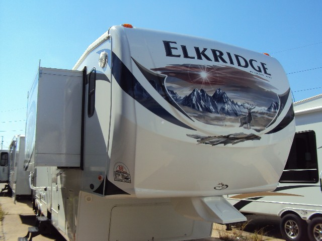 2013 HEARTLAND ELKRIDGE 36FLPS