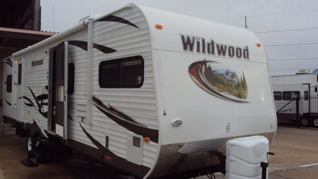 2012 FOREST RIVER WILDWOOD 30FKBS