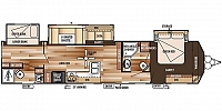 2016 FOREST RIVER WILDWOOD 426 DLX