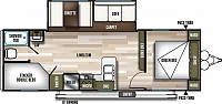 2020 FOREST RIVER WILDWOOD 26DBLE