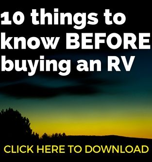 10 things to know before buying an RV