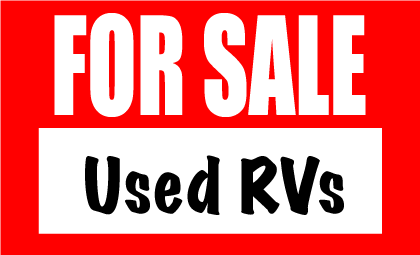 For Sale Used RVs